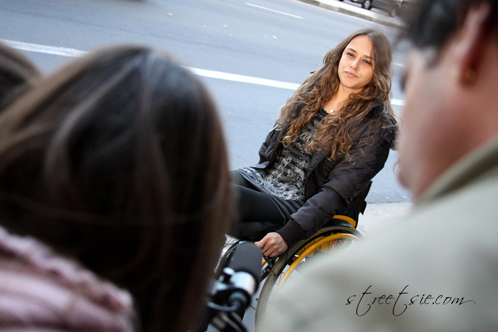 Beautiful Sexy Wheelchair