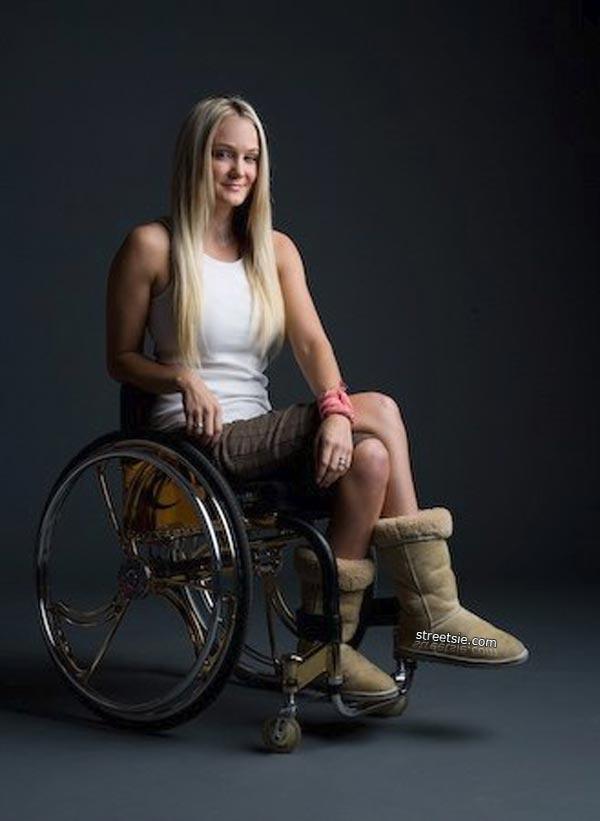 wheelchair woman porno