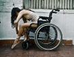 wheelchair babe balerina posing legs