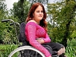 pretty in pink wheelchair babe lyzette