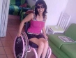 beautiful wheelchair babe sexy as