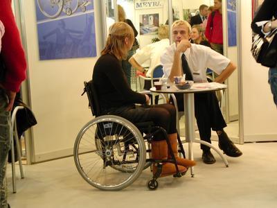 Dating wheelchair woman
