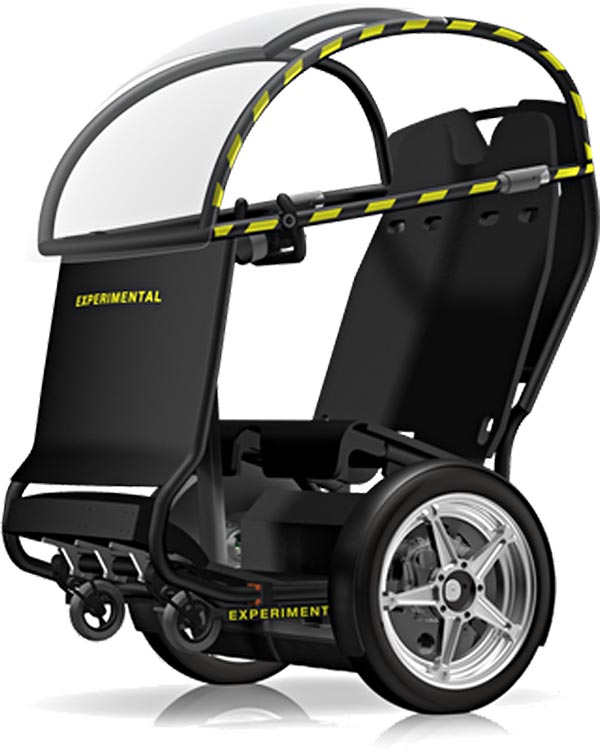Segway and GM launch the PUMA concept wheelchair alternative