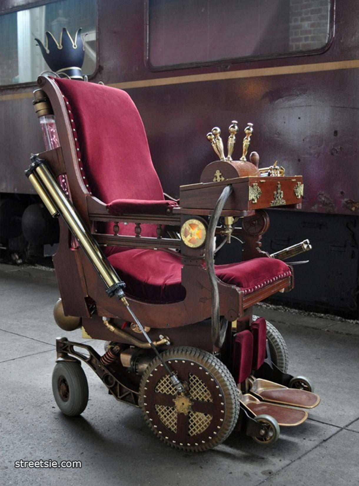 Professor X Modified X Men Wheelchair