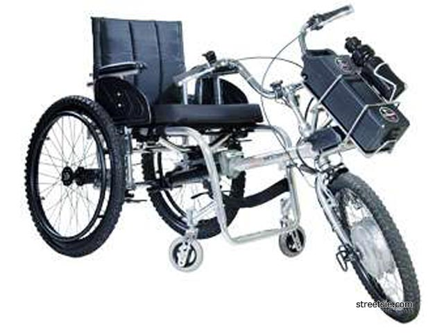 Bikes For Handicapped Adult Two Front Wheels powered front wheel with