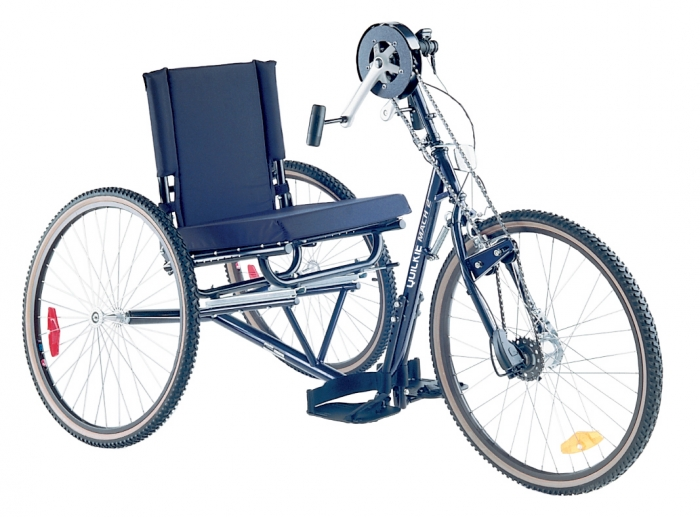 Bikes For Handicapped Adult Two Front Wheels quickie handcycle mach