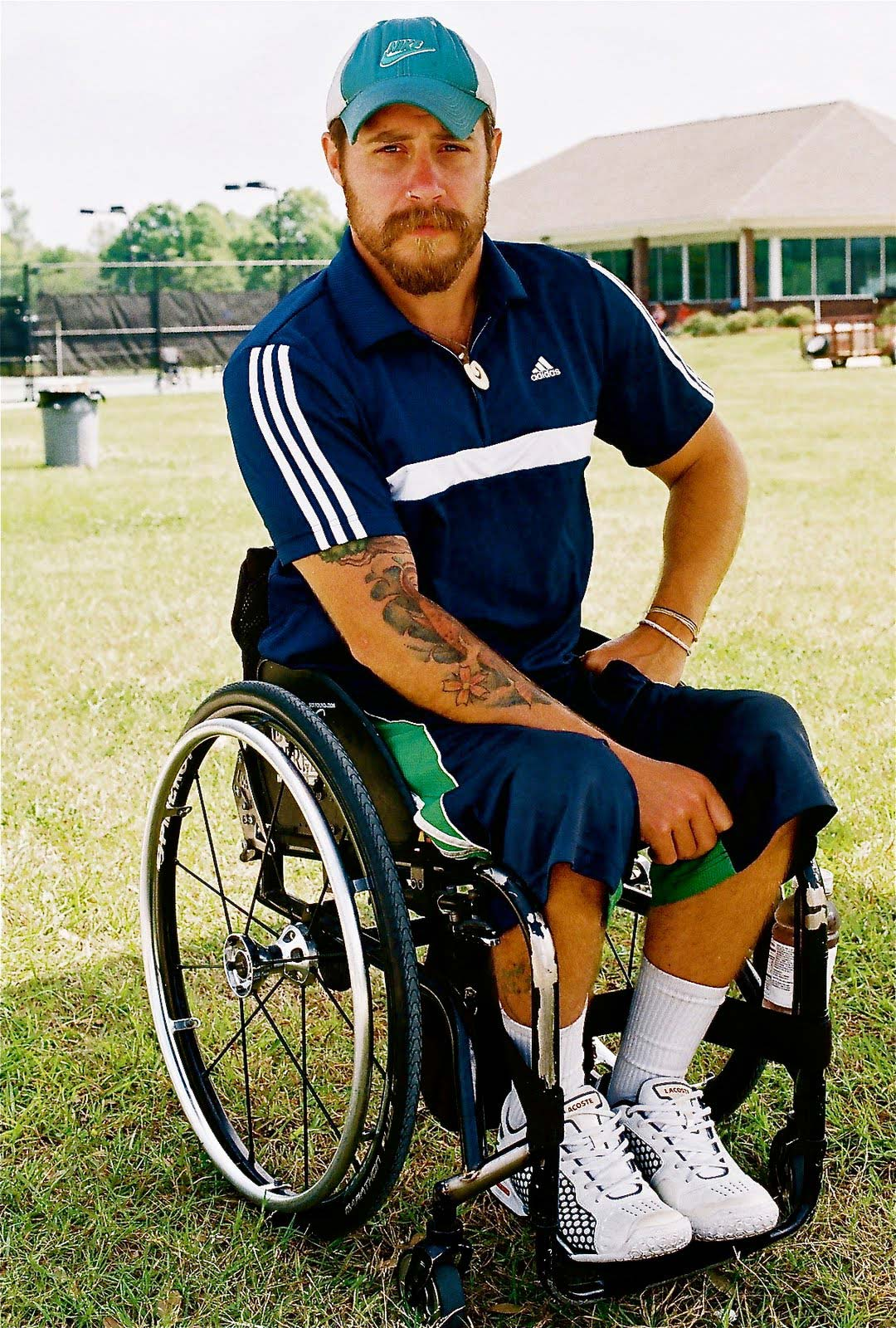 Wheelchair guy keith concar charity worker