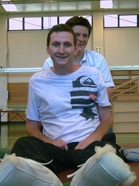 Tim Ward in RNS Physio