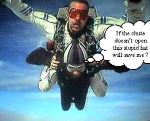 Skydiving freefall