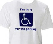 I'm in it for the parking