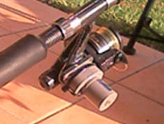 Disability fishing rod motor motor