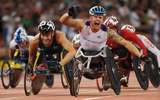 Paralympic Games Wheelchair Athletes