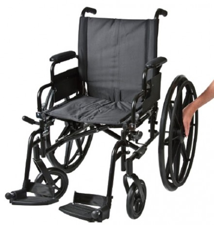 quick release wheelchair wheel