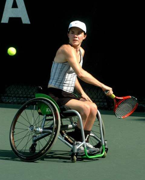 sarah casteel wheelchair tennis champion