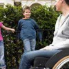 spinal injury wheelchair parents