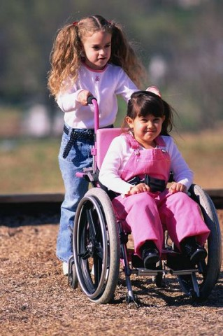 Spinal cord injury wheelchair child