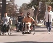 Waterdance Wheelchair Movie Wesley Snipes Helen Hunt