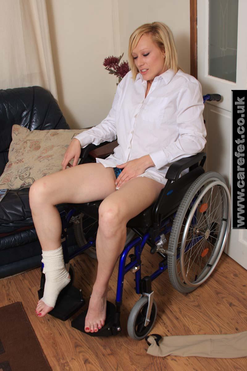 guy in wheelchair having sex